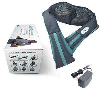 truMedic Instashiatsu Plus Neck and Shoulder Massager set.