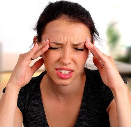 Woman Having Dizziness